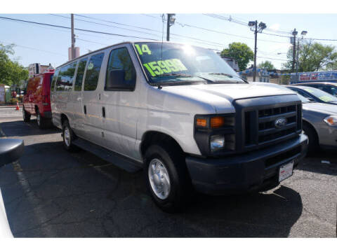 2014 Ford E-Series Wagon for sale at M & R Auto Sales INC. in North Plainfield NJ