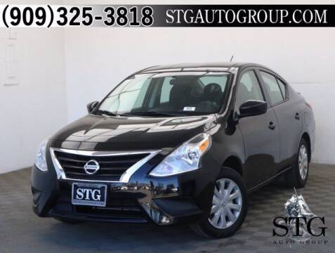 2017 Nissan Versa for sale at STG Auto Group in Montclair CA