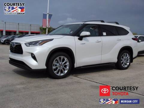 2021 Toyota Highlander Hybrid for sale at Courtesy Toyota & Ford in Morgan City LA