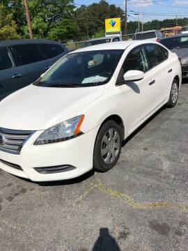 2013 Nissan Sentra for sale at LAKE CITY AUTO SALES - Jonesboro in Morrow GA