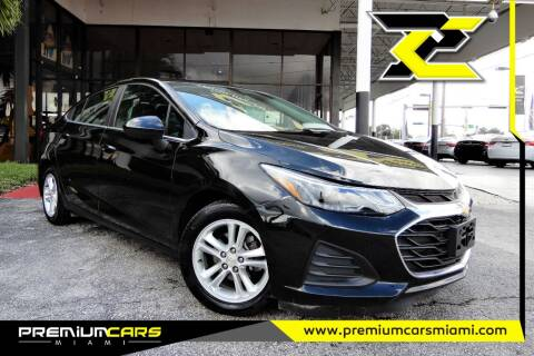 2019 Chevrolet Cruze for sale at Premium Cars of Miami in Miami FL
