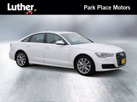 2016 Audi A6 for sale at Park Place Motor Cars in Rochester MN