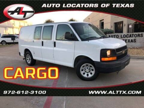 2012 Chevrolet Express Cargo for sale at AUTO LOCATORS OF TEXAS in Plano TX