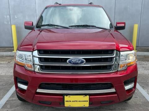 2016 Ford Expedition for sale at Delta Auto Alliance in Houston TX