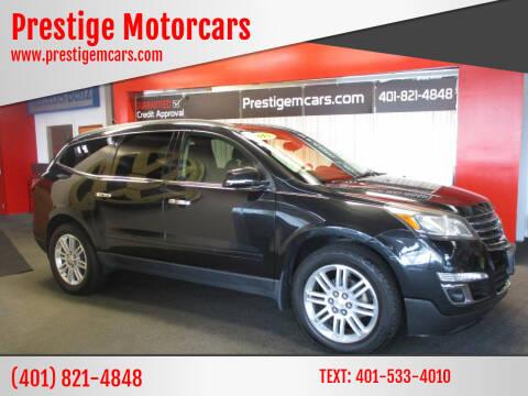 2015 Chevrolet Traverse for sale at Prestige Motorcars in Warwick RI