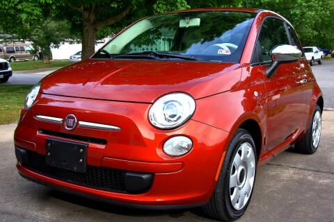 2012 FIAT 500 for sale at Prime Auto Sales LLC in Virginia Beach VA