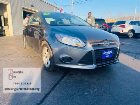 2014 Ford Focus for sale at Transportation Center Of Western New York in Niagara Falls NY