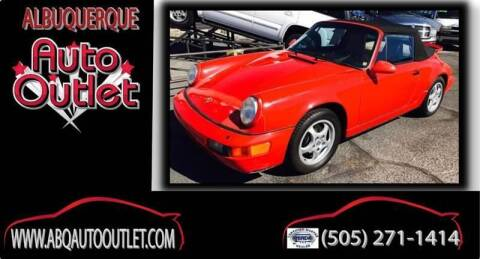 1993 Porsche 911 for sale at ALBUQUERQUE AUTO OUTLET in Albuquerque NM