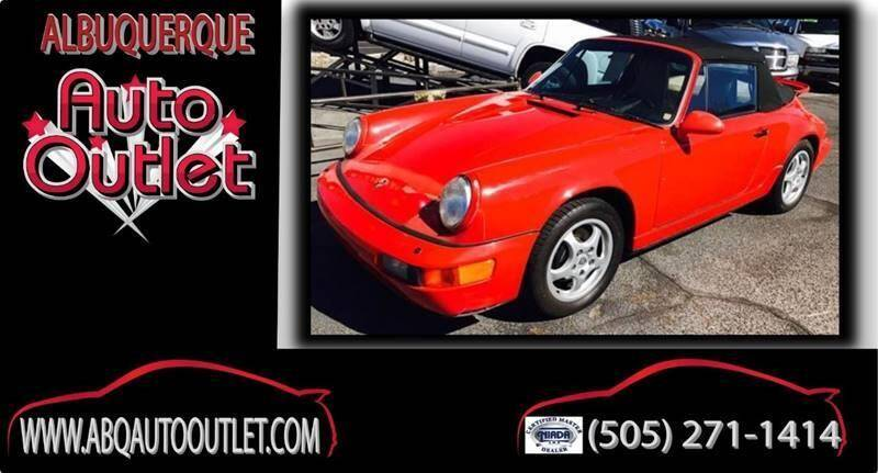 1993 Porsche 911 for sale at ALBUQUERQUE AUTO OUTLET in Albuquerque NM