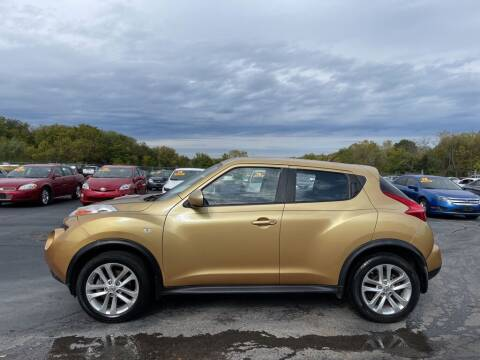 2013 Nissan JUKE for sale at CARS PLUS CREDIT in Independence MO