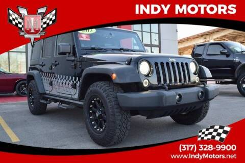 2013 Jeep Wrangler Unlimited for sale at Indy Motors Inc in Indianapolis IN