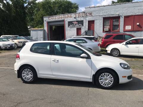 2011 Volkswagen Golf for sale at Dan's Auto Sales and Repair LLC in East Hartford CT