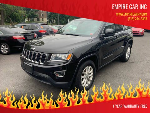 2015 Jeep Grand Cherokee for sale at EMPIRE CAR INC in Troy NY