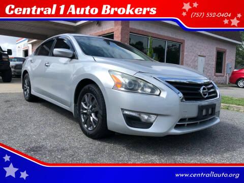 2015 Nissan Altima for sale at Central 1 Auto Brokers in Virginia Beach VA