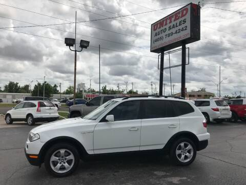2007 BMW X3 for sale at United Auto Sales in Oklahoma City OK