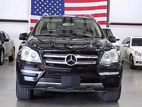 2012 Mercedes-Benz GL-Class for sale at Texas Motor Sport in Houston TX