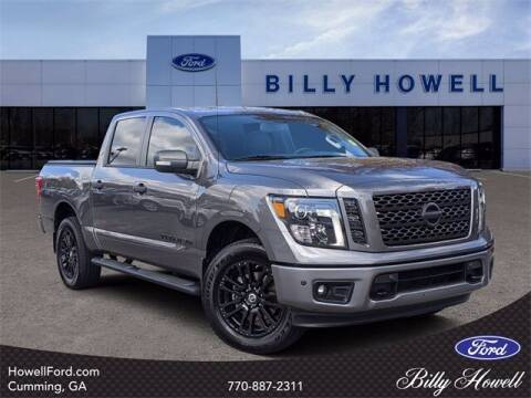 2019 Nissan Titan for sale at BILLY HOWELL FORD LINCOLN in Cumming GA