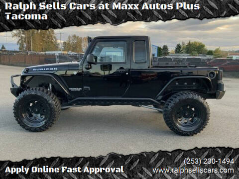 2013 Jeep Wrangler Unlimited for sale at Ralph Sells Cars at Maxx Autos Plus Tacoma in Tacoma WA