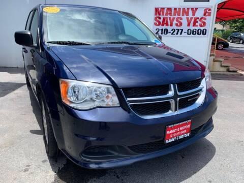 2016 Dodge Grand Caravan for sale at Manny G Motors in San Antonio TX