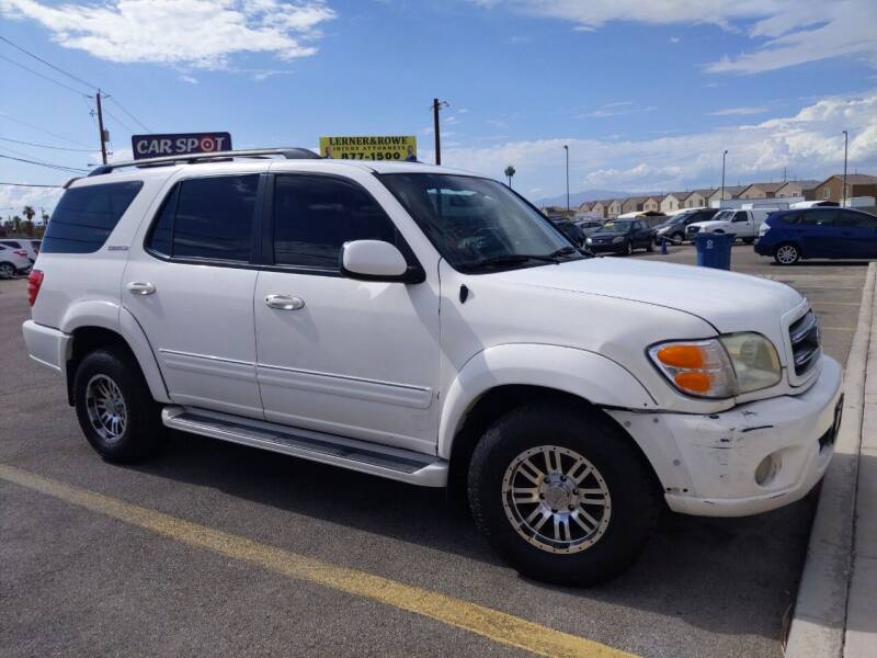 2002 Toyota Sequoia for sale at Car Spot in Las Vegas NV