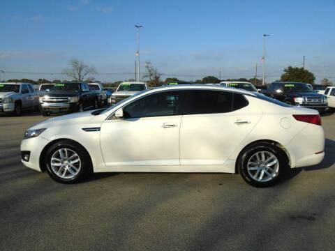 2013 Kia Optima for sale at PHOENIX AUTO GROUP in Belton TX