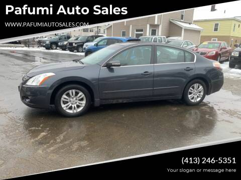 2010 Nissan Altima for sale at Pafumi Auto Sales in Indian Orchard MA