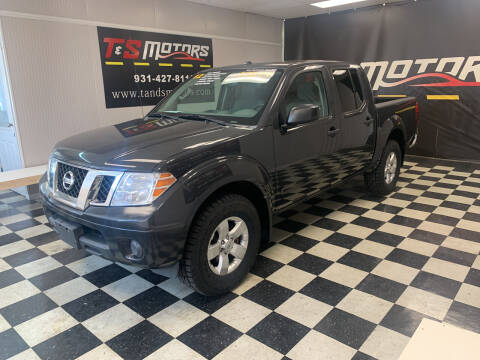 2012 Nissan Frontier for sale at T & S Motors in Ardmore TN