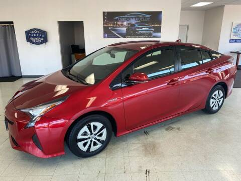 2016 Toyota Prius for sale at Used Car Outlet in Bloomington IL