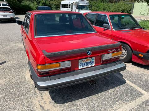 1987 BMW 5 Series for sale at SODA MOTORS AUTO SALES LLC in Newport RI