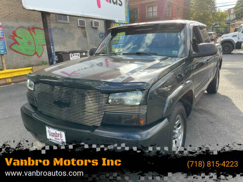 2004 Chevrolet Silverado 1500 for sale at Vanbro Motors Inc in Staten Island NY