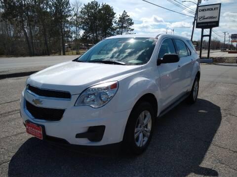 2013 Chevrolet Equinox for sale at KATAHDIN MOTORS INC /  Chevrolet Sales & Service in Millinocket ME