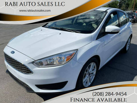 2017 Ford Focus for sale at RABI AUTO SALES LLC in Garden City ID