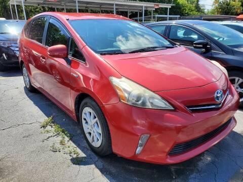 2012 Toyota Prius v for sale at America Auto Wholesale Inc in Miami FL