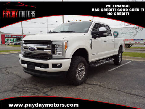 2019 Ford F-250 Super Duty for sale at Payday Motors in Wichita And Topeka KS
