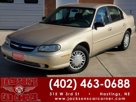 2004 Chevrolet Classic for sale at Jacksons Car Corner Inc in Hastings NE