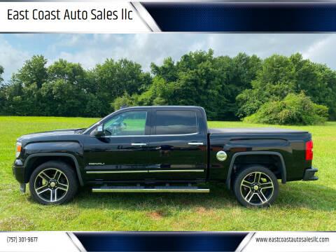 2015 GMC Sierra 1500 for sale at East Coast Auto Sales llc in Virginia Beach VA