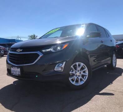 2018 Chevrolet Equinox for sale at LUGO AUTO GROUP in Sacramento CA