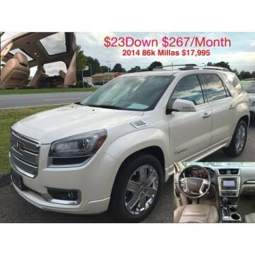2014 GMC Acadia for sale at Deluxe Auto Group Inc in Conover NC