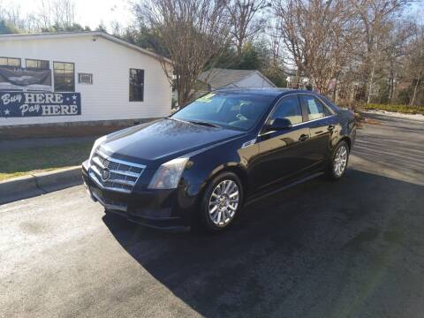 2010 Cadillac CTS for sale at TR MOTORS in Gastonia NC