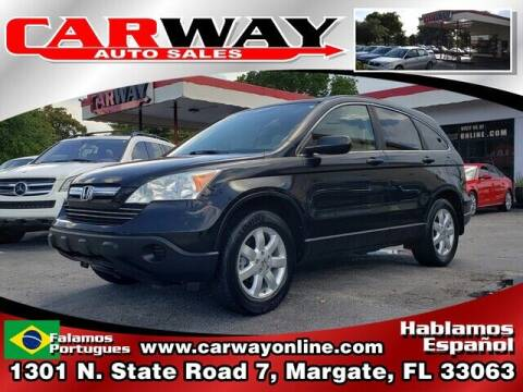 2009 Honda CR-V for sale at CARWAY Auto Sales in Margate FL