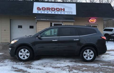 2014 Chevrolet Traverse for sale at Gordon Auto Sales LLC in Sioux City IA