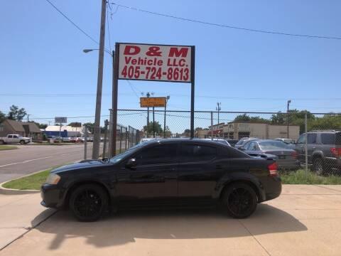 2009 Dodge Avenger for sale at D & M Vehicle LLC in Oklahoma City OK