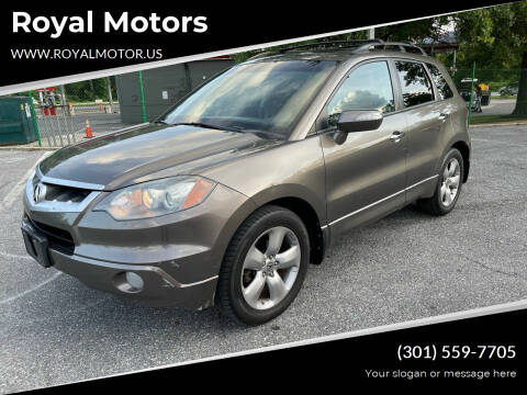 2007 Acura RDX for sale at Royal Motors in Hyattsville MD