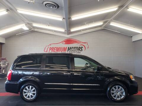 2016 Chrysler Town and Country for sale at Premium Motors in Villa Park IL