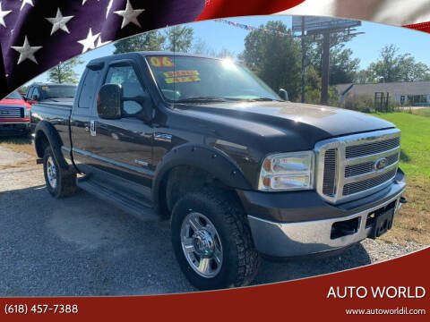 2006 Ford F-350 Super Duty for sale at Auto World in Carbondale IL