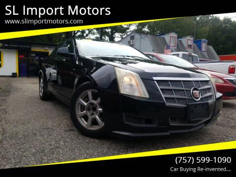 2008 Cadillac CTS for sale at SL Import Motors in Newport News VA