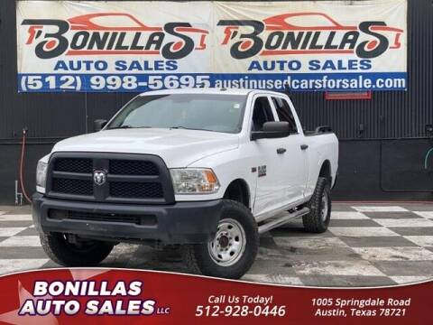 2015 RAM Ram Pickup 2500 for sale at Bonillas Auto Sales in Austin TX