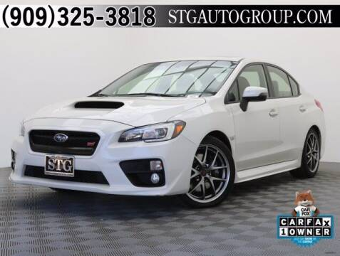 2017 Subaru WRX for sale at STG Auto Group in Montclair CA
