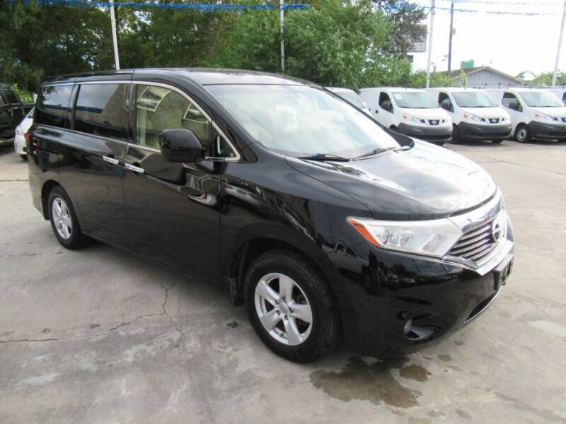 2012 Nissan Quest for sale at Lone Star Auto Center in Spring TX