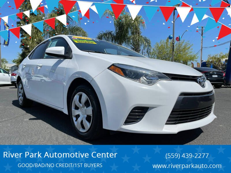 2016 Toyota Corolla for sale at River Park Automotive Center in Fresno CA